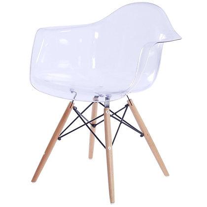 Clear Acrylic Arm Chair
