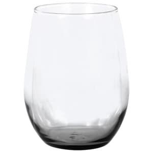 Smoke Glass Stemless Wine Glass