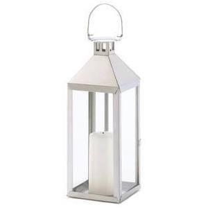 Chrome Manhattan Lantern