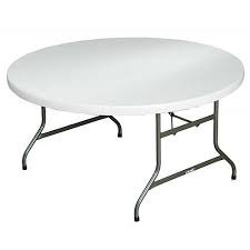 """60"""" Round Resin Table"""