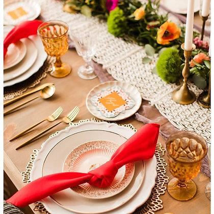 Amber Estate Glassware
