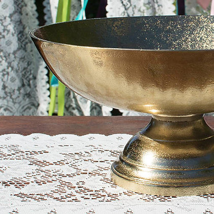 Gold Compote Dish