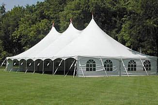 Multi Size Peak Pole Tent