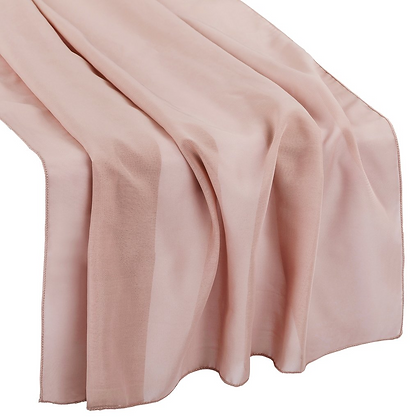 Dusty Rose / Mauve Chiffon