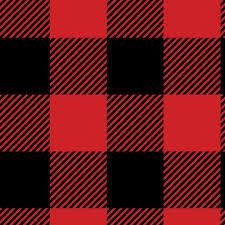 Buffalo Red and Black Check