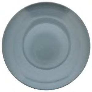 Gray Stoneware Dinner Plate