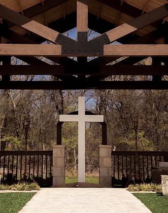 White Wooden Cross