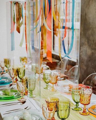 Green Estate Glassware