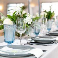 Light Blue Estate Glassware