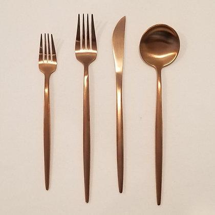 Modern Copper Flatware