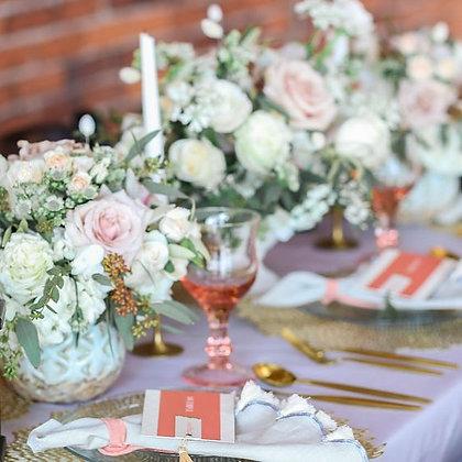 Pink Estate Glassware