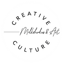 Creative Culture WHITE Milkshakes Logo 2