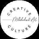 Creative Culture WHITE Milkshakes Logo 2