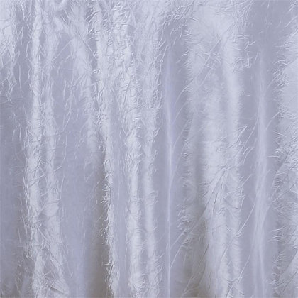White Crinkle Linens