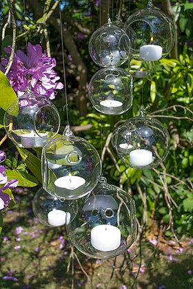 Hanging Glass Orb