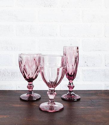 Amethyst Estate Glassware