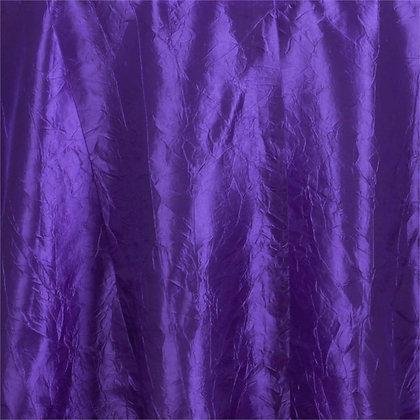 Purple Crinkle Linens