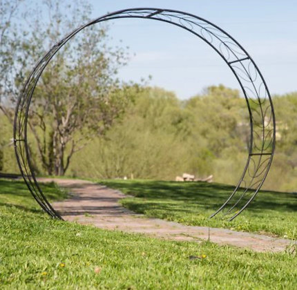 Circle Arbor Backdrop