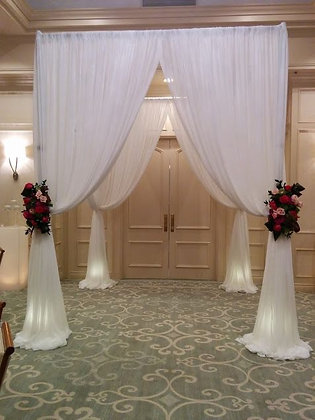Square Single Layer Chuppah / Gazebo