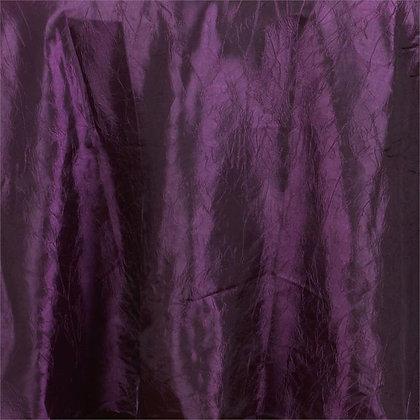 Eggplant Crinkle Linens