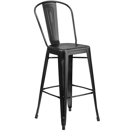 Cafe Counter Chair with Back