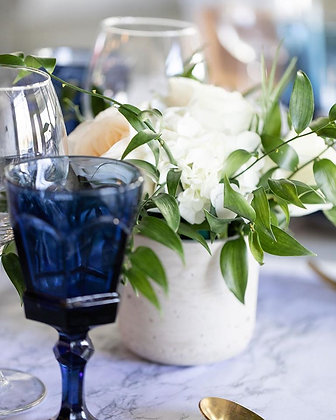 Dark Blue Estate Glassware