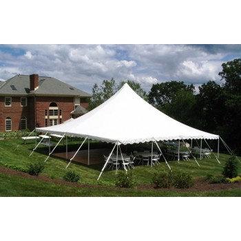 40'x40' Peak Pole Tent