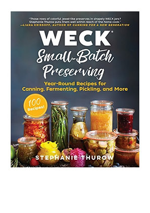 WECK Small Batch Preserving - livro