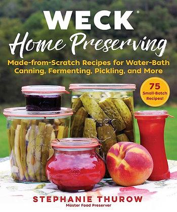 WECK Home Preserving - livro