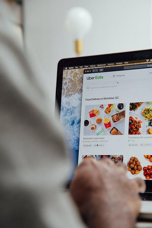 Website Design / Basic Restaurants