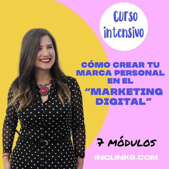 """Introducción al curso: Cómo crear tu marca personal en el  """"Marketing Digital"""" (1)"""