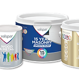 Valspar range of paints