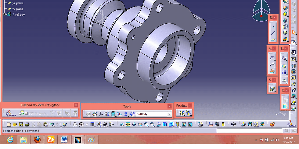 Webinar on Product Modelling by using CATIA
