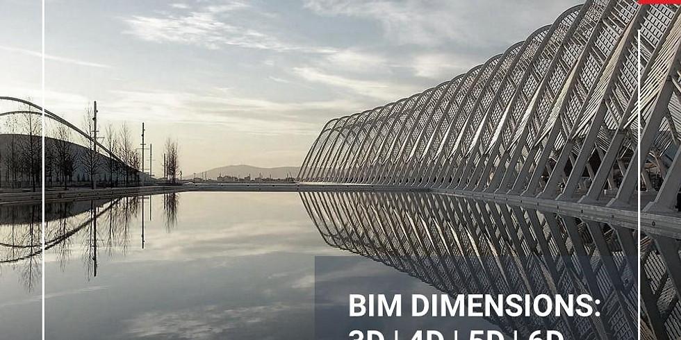 BIM Dimensions: 3d,4d,5d,6d,7d