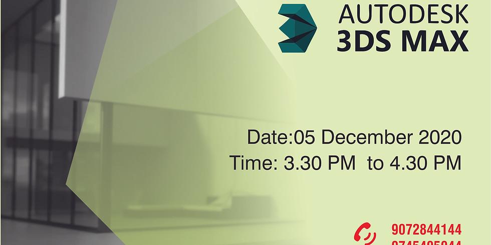 Webinar on 3D Visualization