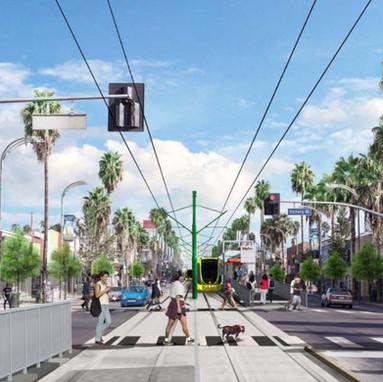 LACMTA East San Fernando Valley Transit Corridor Procurement Options Analysis
