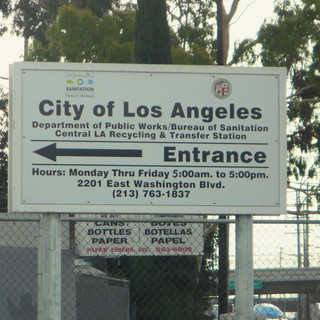 LASAN Central Los Angeles Recycling and Transfer Station (CLARTS) Organics Processing Facility (NPV Analysis