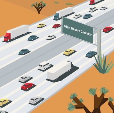 LACMTA High Desert Multi-Purpose Corridor Financial Strategy Analysis