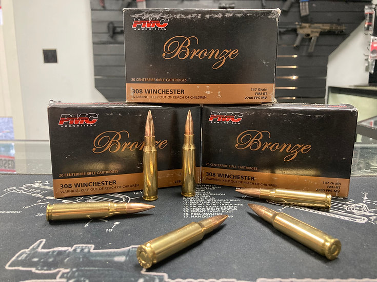 PMC Bronze .308 Win Ammo