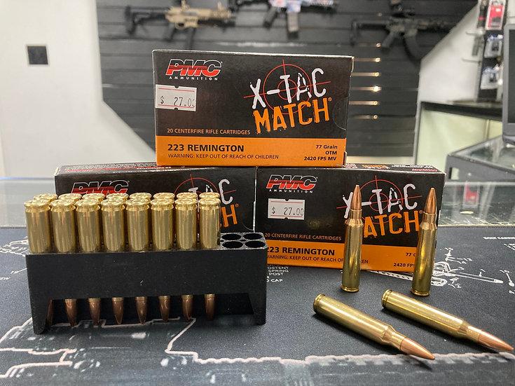 PMC X-Tac Match .223 Rem. Ammo