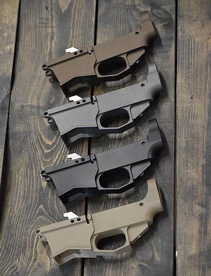 Wolfpack Armory Cerakoted AR9 80% Billet Lower Receiver