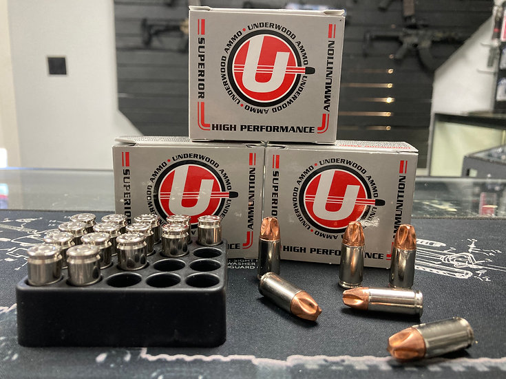 Underwood Ammo High Performance Xtreme Defender 9mm Luger +P