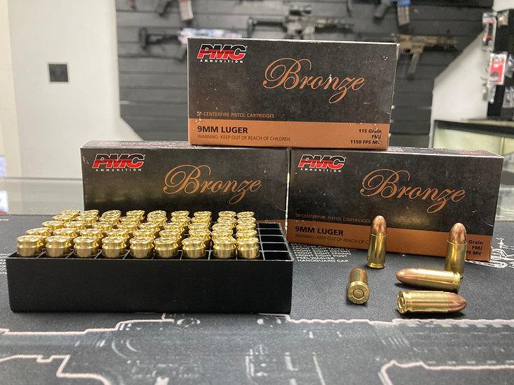 PMC Bronze 9mm Ammo