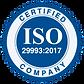 ISO Certified Company Logo