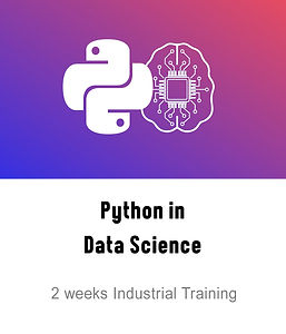 Python in Data Science Course Logo