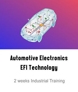 Automotive Electronics EFI Technology Course Logo
