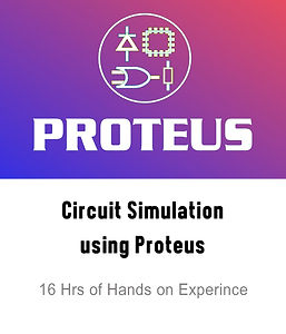 Circuit Simulation using Proteus course logo
