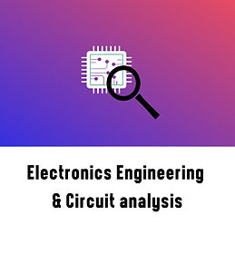 Electronic Engineering and Circuit Analysis Course Logo
