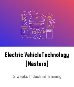 Electric Vehicles Technology Masters Course logo