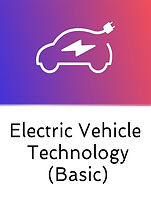 Electric Vehicles Technology Basic Course logo medium size